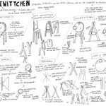 """Schminkpult """"Schneewittchen"""" Design: Ariane März Skizzeblatt"""