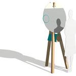 """Schminkpult """"Schneewittchen"""" Design: Ariane März"""