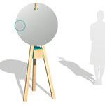 """makeup desk """"Schneewittchen"""" Design: Ariane März"""