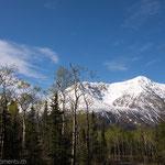 Aussicht vom Kathleen Lake Campground