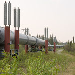Trans-Alaska-Pipeline von Prudhoe Bay nach Valdez