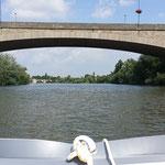 unterwegs im Boot