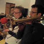 Wie alles anfing - Proberaum 03/2012 - Paulo, Reimund & Christoph