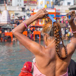 Les indiennes considèrent leur longue chevelure comme une force et un signe d'élégance