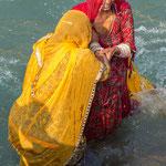 L'immersion dans les eaux du Gange est censée laver ses péchés