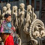 Depuis 200 ans, Kumartuli est le quartier des sculpteurs