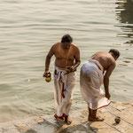 Venir à Bénarès, c'est entreprendre un voyage dans la mythologie hindoue