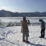 冬の屈斜路湖 愛知県から