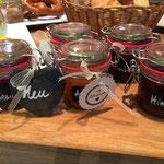 Hausgemachte Marmelade erwartet Sie zum Frühstück im Café- unbedingt testen!