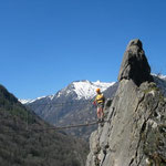 Ariège-Pyrénées, Goulier, via ferrata