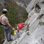 Ariège-Pyrénées, Goulier, rocher d'escalade