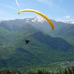 Ariège-Pyrénées, Goulier, parapente