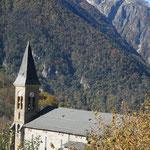 Ariège-Pyrénées, allée de Vicdessos, Goulier - Eglise