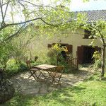 """Ariège-Pyrénées, allée de Vicdessos, Goulier, gîte rural """"La Grange"""" - Jardin"""