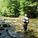 Ariège-Pyrénées, Goulier, pêche