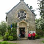 La chapelle Notre-Dame-de-l'Europe est construite sur l'emplacement de l'église de Fleury-devant-Douaumont