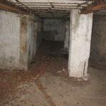 Les restes de l'hôpital allemand de la forêt de Gobessart
