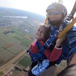 Fallschirmspringen München Geschenk Weihnachten