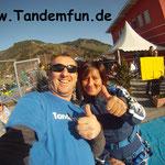 Fallschirmspringen Tandemsprung Zell am See Österreich