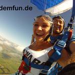 Fallschirmspringen Tandemsprung Landshut