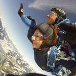 Geschenkgutschein Fallschirmspringen Zell am See