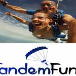 Fallschirm springen Vilshofen an der Donau in Niederbayern Bayern
