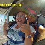 Fallschirmsprung Kinder Firmung Kommunion