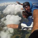 Fallschirmspringen Rothenburg ob der Tauber Mittelfranken