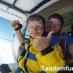 Fallschirmspringen Tandemsprung Oberpfalz