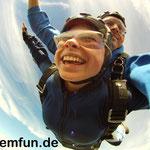 Fallschirmspringen Geschenkidee Tandemsprung Klatovy