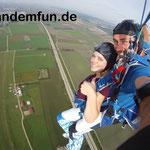 Österreich Fallschirmsprung Tandemsprung Kirchberg am Walde