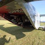 Fallschirmspringen  Bayern Rothenburg ob der Tauber