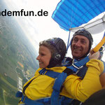 Fallschirmspringen Tandemsprung Deggendorf