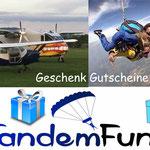 Tandemsprung Bayern Gutschein Geschenk zum Geburtstag