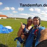 Fallschirmspringen Tandemsprung Regensburg