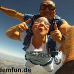 Fallschirmspringen Tandem Geschenk