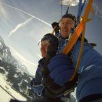 Fallschirmspringen Zell am See Gutschein Geschenk