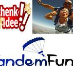 Fallschirm Tandemsprung Geschenkidee