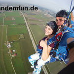 Fallschirmsprung Klatovy Klattau Tschechien Fallschirmspringen