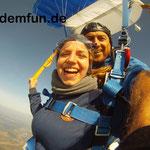 Fallschirmspringen Tandemsprung Klatovy Tschechien