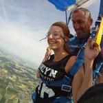 Fallschirmspringen Weiden Tandemsprung