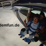 Fallschirmsprung Kinder