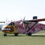 Fallschirmspringen Waldmünchen Pink Skyvan