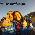 Fallschirmspringen Tandemsprung Bayerischer Wald Bodenmais