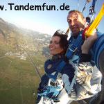 Fallschirmspringen Tandemsprung Rothenburg ob der Tauber