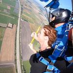 Fallschirmspringen Gutschein Bayern
