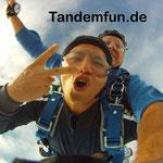 Klatovy Fallschirmsprung Tschechien Klattau Tandemsprung