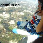 Fallschirmspringen Tandemsprung Bayern