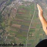 Fallschirmspringen Tandemsprung München