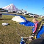 Fallschirmspringen Kinder Tandemsprung